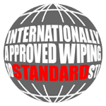 Wipe disk drive data using Internationally Approved Wiping Standards